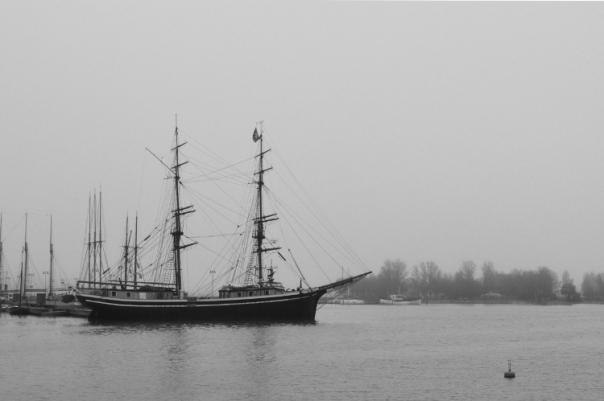 Fog at Katajanokka