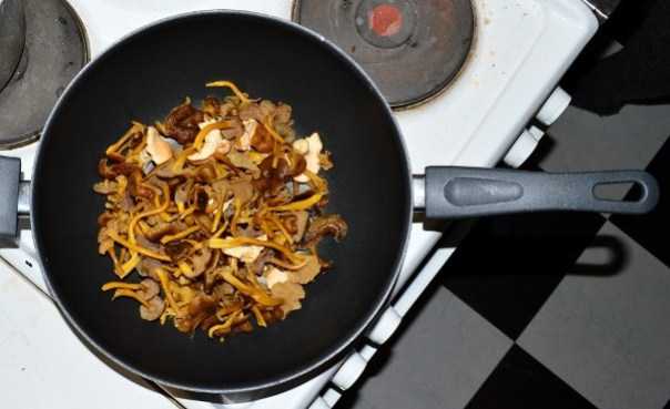 Winter chanterelles