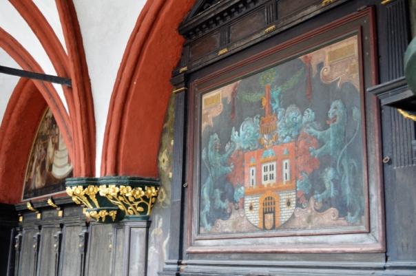 Rathaus painting, Lüneburg