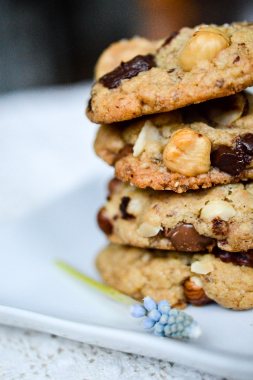2women2cats: Vegan Hazelnut Chocolate Chip Cookies