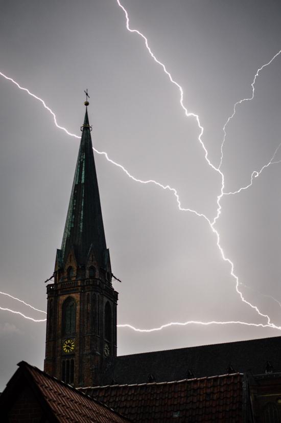 Lighting in Lüneburg